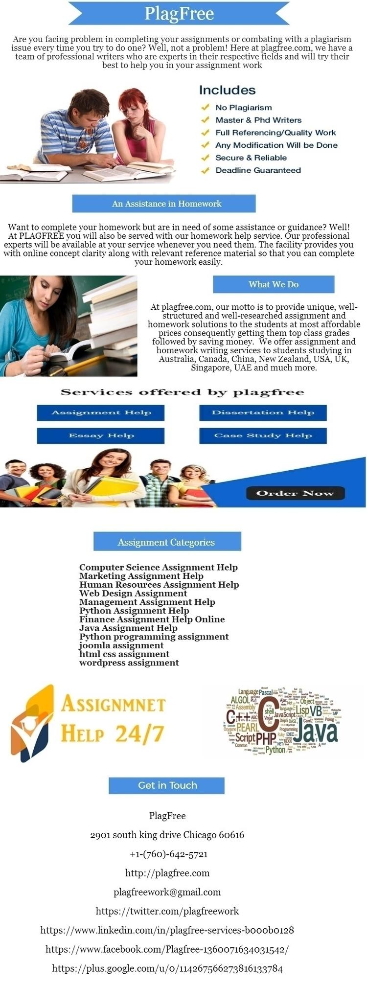Cheap Assignment Online Service - plagfree   ello