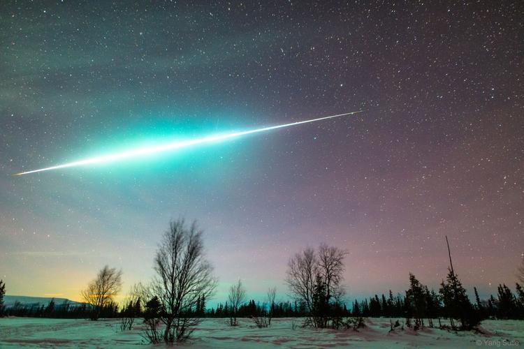 Fireball Arctic - geminid, fireball - valosalo | ello