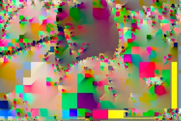 hiding - digitalart, netart, glitchart - digitalruins | ello