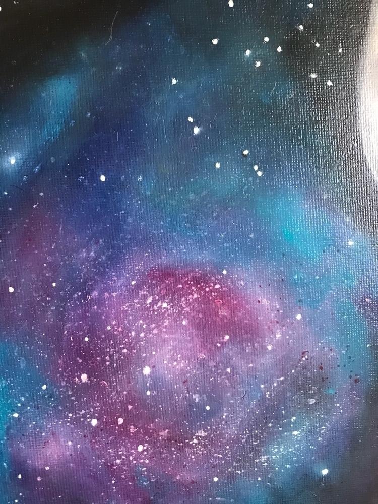 Galaxies galaxies Prints merch  - artofsya | ello