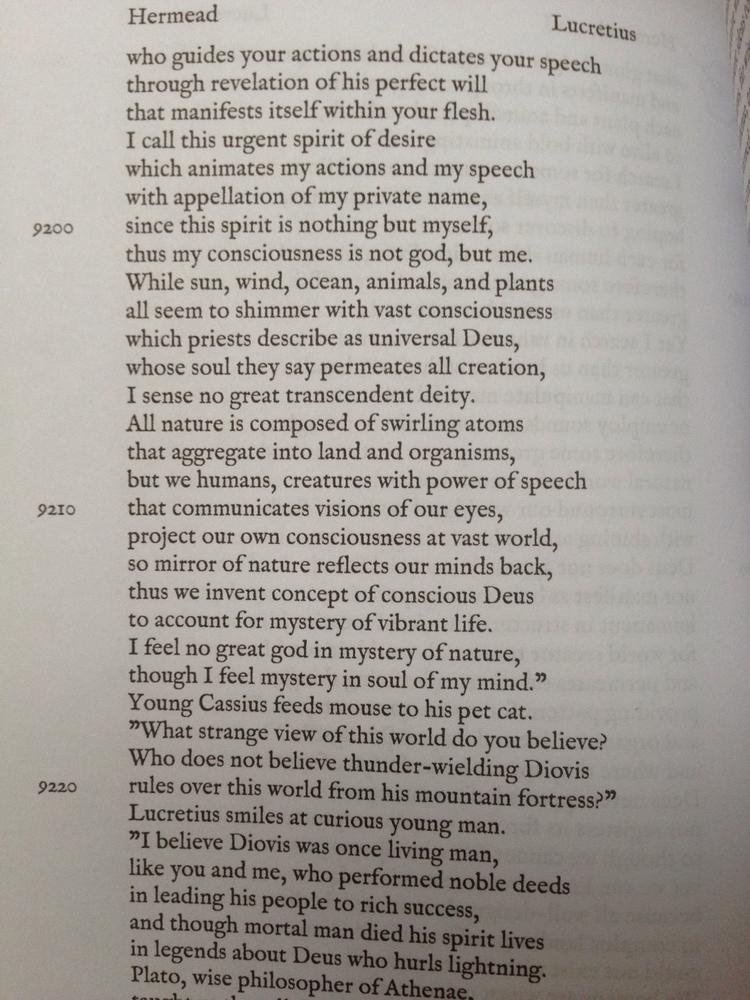 Epic poem life Lucretius 14,700 - surazeus   ello