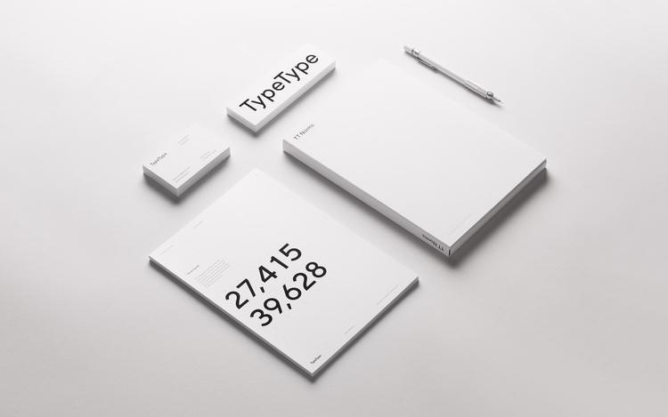 Visual identity TypeType Foundr - northeastco | ello
