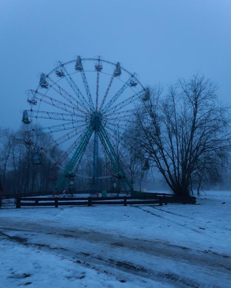 ferris wheel Latvia - photography - anttitassberg | ello
