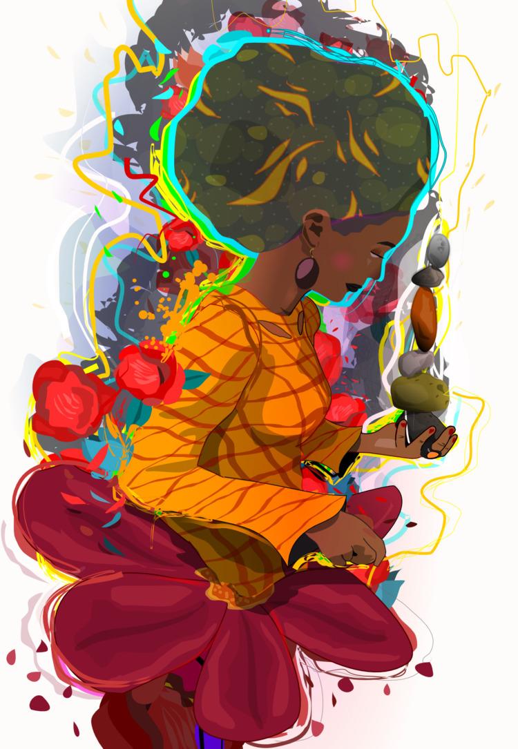 Balance midst blooming Portfoli - ixnivek | ello