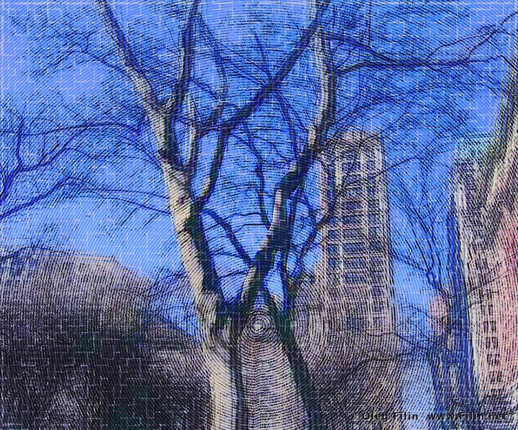 Big Apple Trees' digital art, O - filin | ello