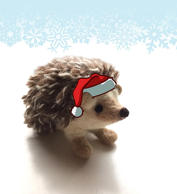 ! Happy Holidays Holiday Hedgeh - katrunnings | ello