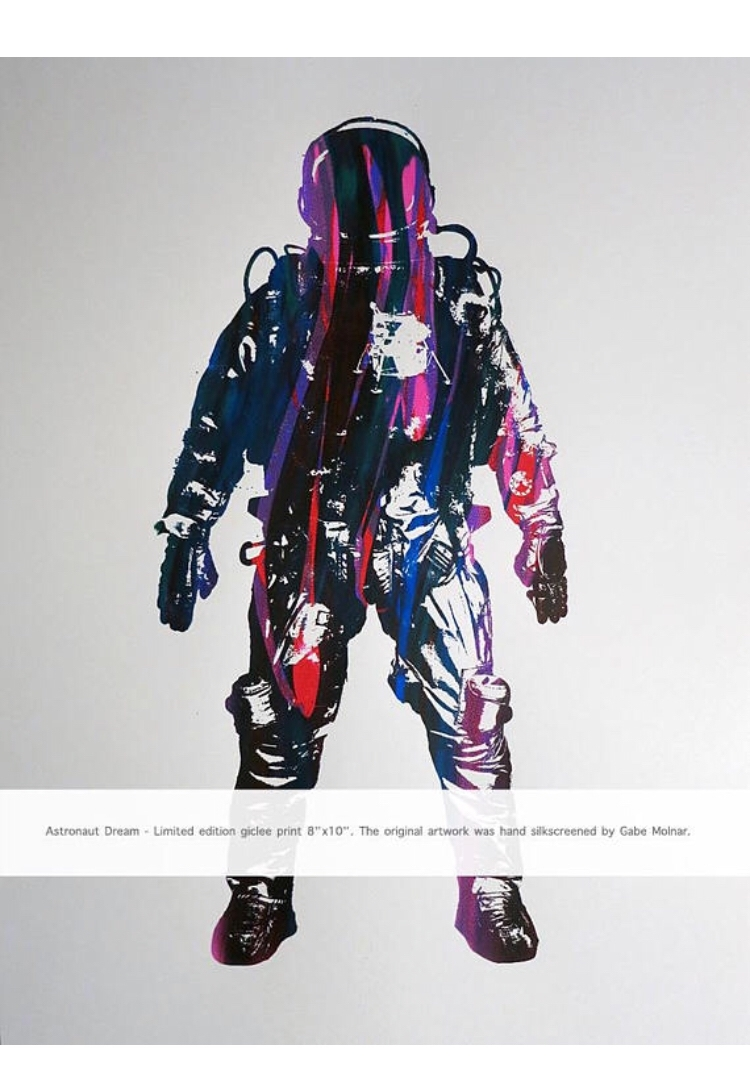 Astronaut Dream - Giclée art pr - 1aeon | ello
