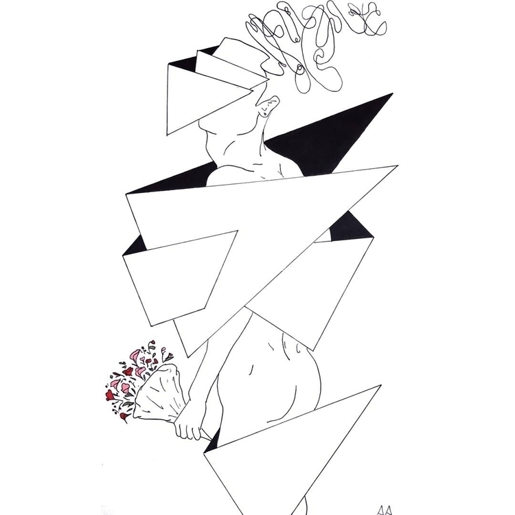 date - art, minimalist, geometry - alexsappy | ello