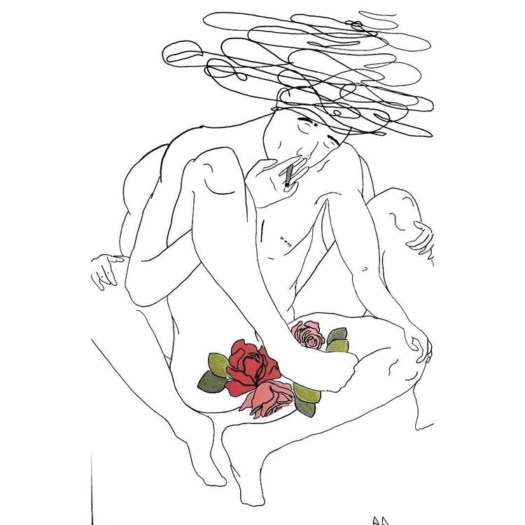 Ambiguity - art, design, print, flowers - alexsappy | ello