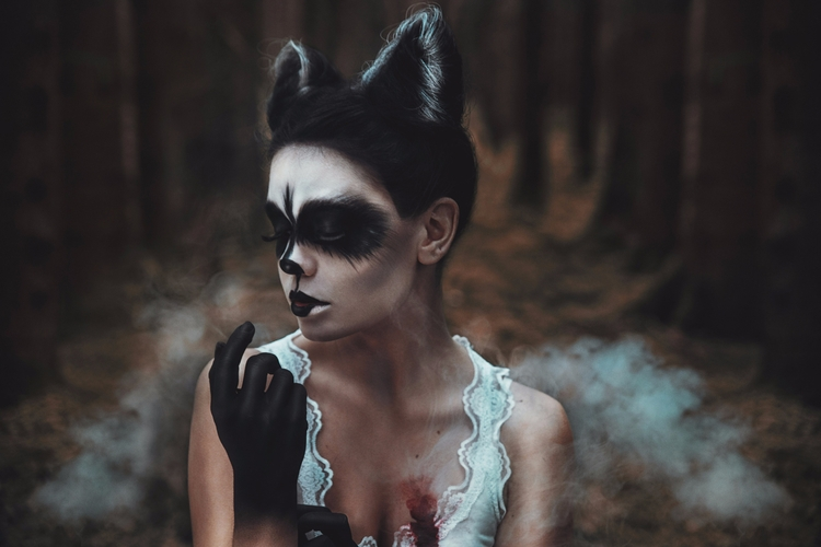 "Animals Left Woods..."" — Photog - darkbeautymag | ello"