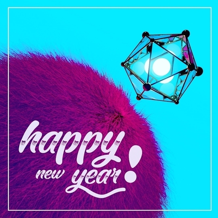 Happy year - cinema4d, motiongraphics - tahacy | ello