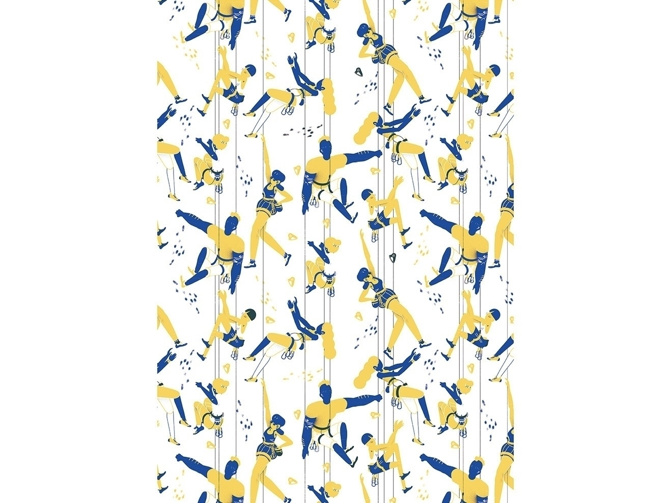Closing climber series pattern  - alvz_motion | ello