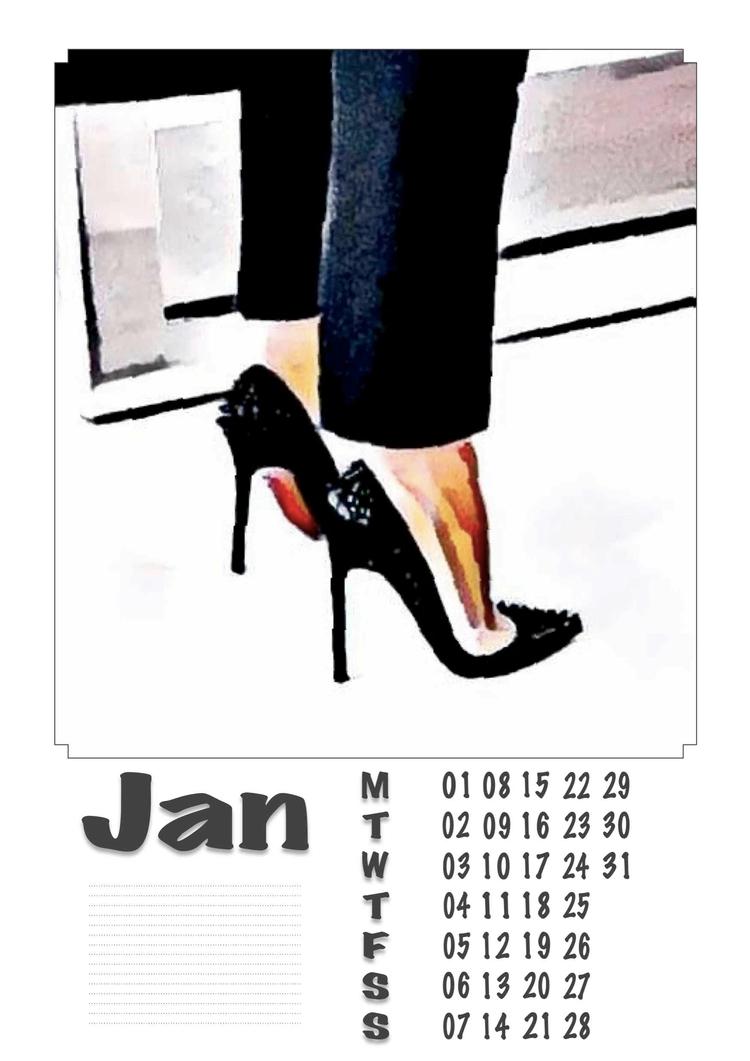 January - Legs, Heels, Photography - ziolele | ello