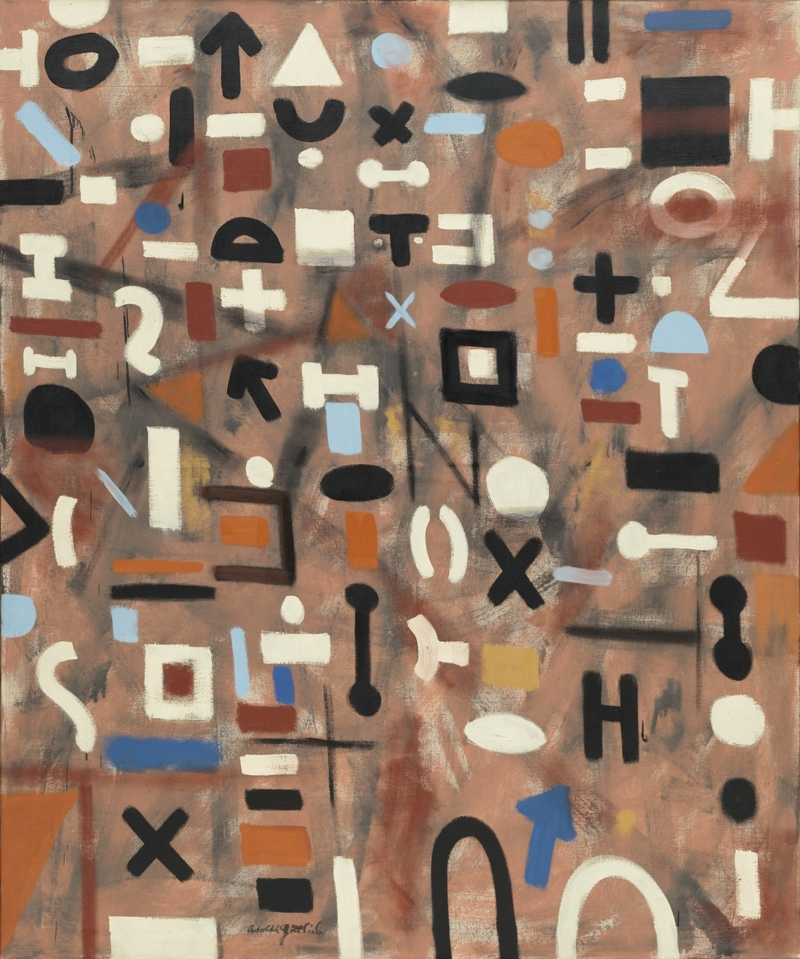 Adolph Gottlieb Composition 195 - modernism_is_crap | ello