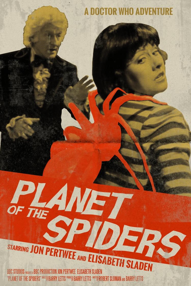 Doctor Planet Spiders retro sty - jgunter   ello