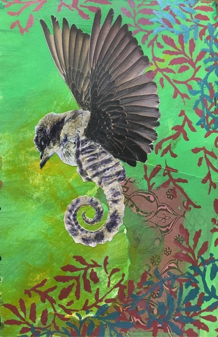 Ideas art journal - collageart, artist - judithmonroe | ello