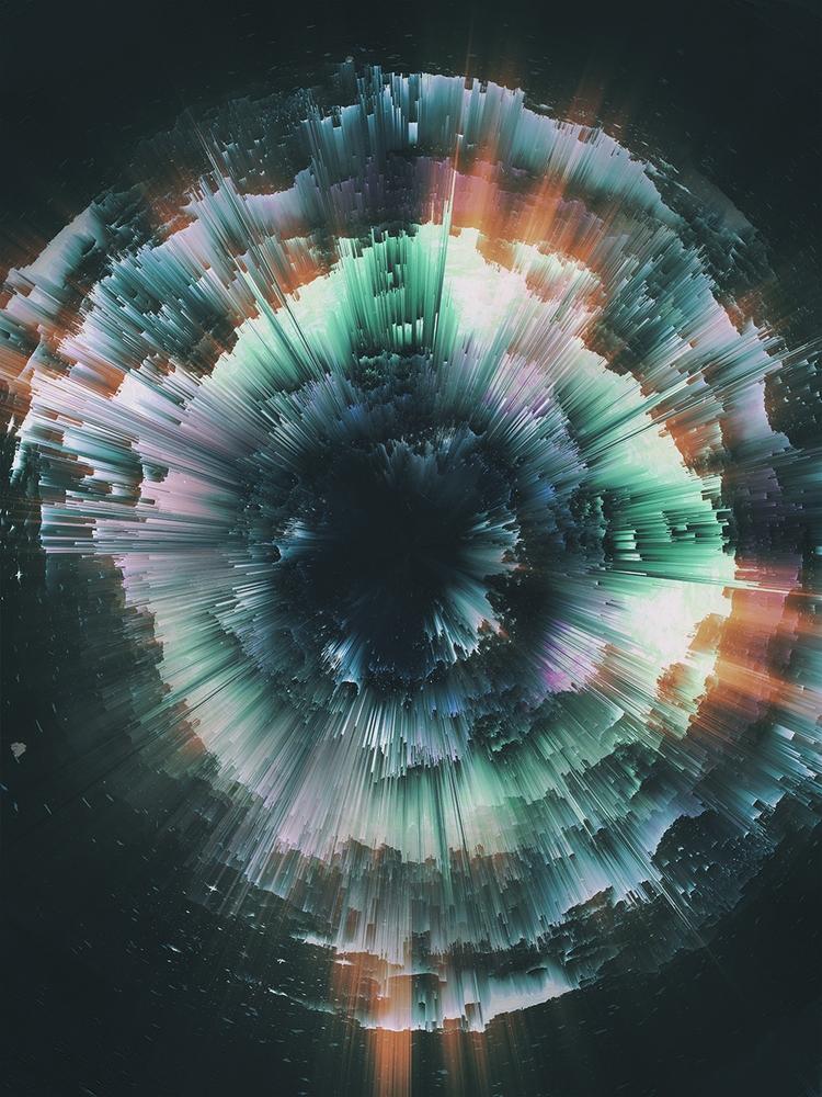 Leila - digitalart, abstractart - jandersdotter | ello