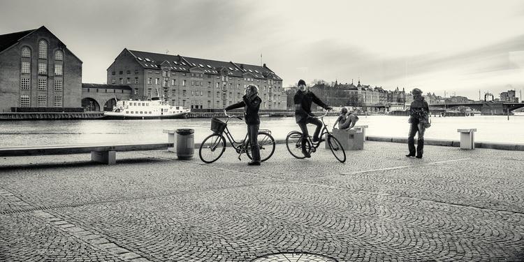 Denmark, Copenhagen, pavement - toni_ertl | ello