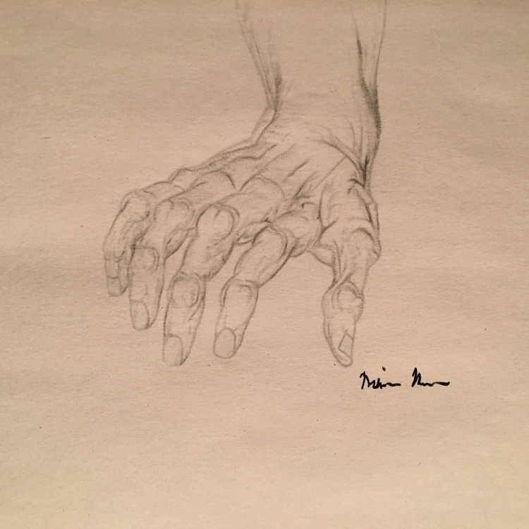 Hand Sketches- Melissa Romeo Fi - missymel6 | ello