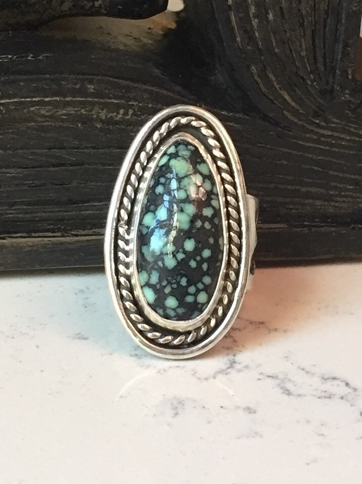 Mint Lander Ring Hand Sawed But - bellabychrista | ello