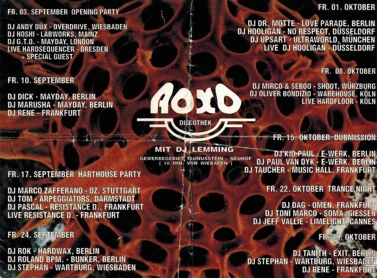 DJ Oliver Bondzio + Hardfloor l - bondziolino | ello