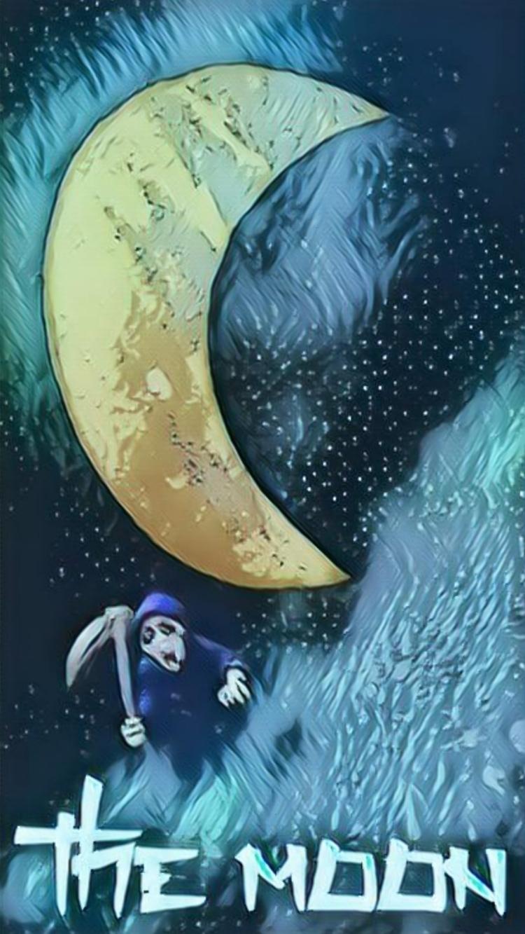 MOON - novaexpress93, moon, tarot - novaexpress93 | ello