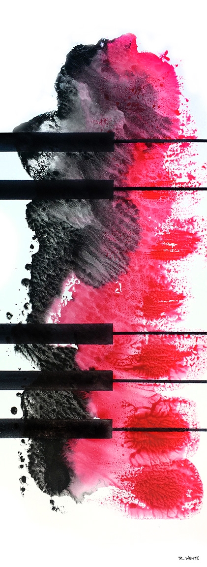 ink paper - watercolor, artwork - robert_wente | ello