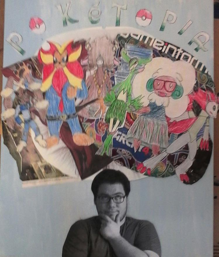 Pokétopia Collage Painting - JudyHopps - brandon_omega-x | ello