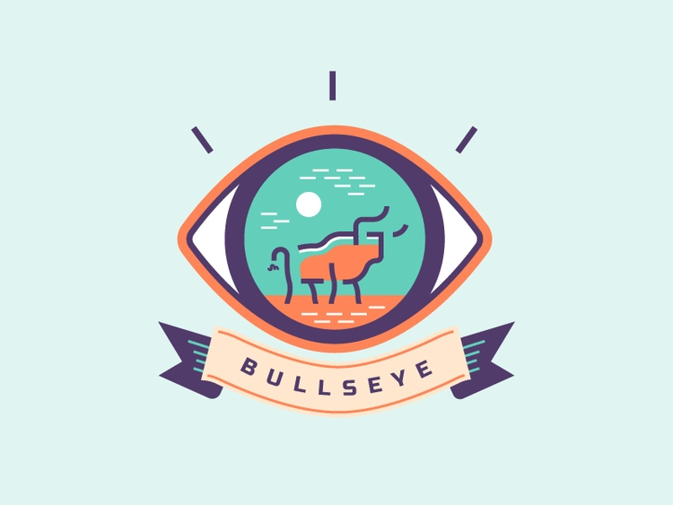 Bullseye Design - illustration, design - jessienewhouse | ello