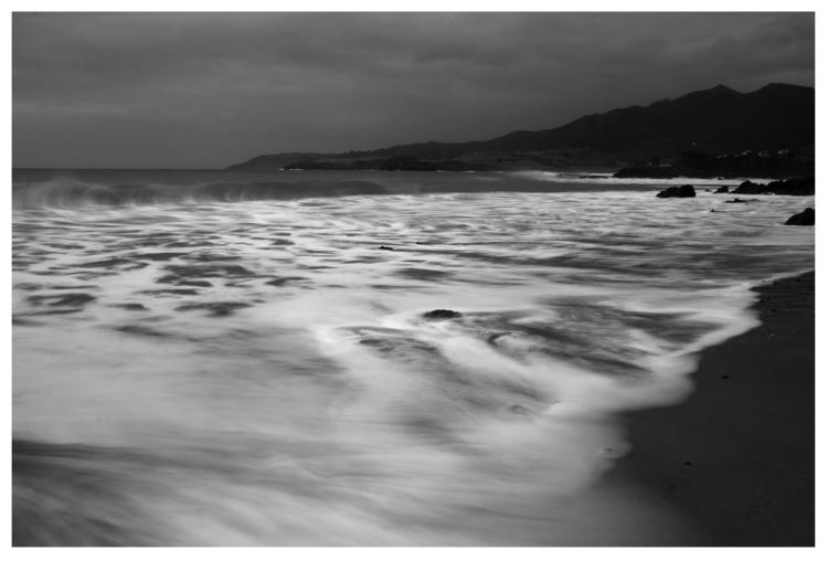 Beach sunset - guillermoalvarez | ello