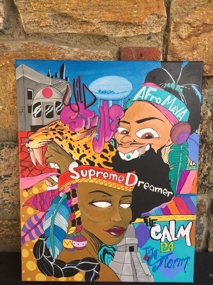 Supreme Dreamer Warriors canvas - jbonez | ello