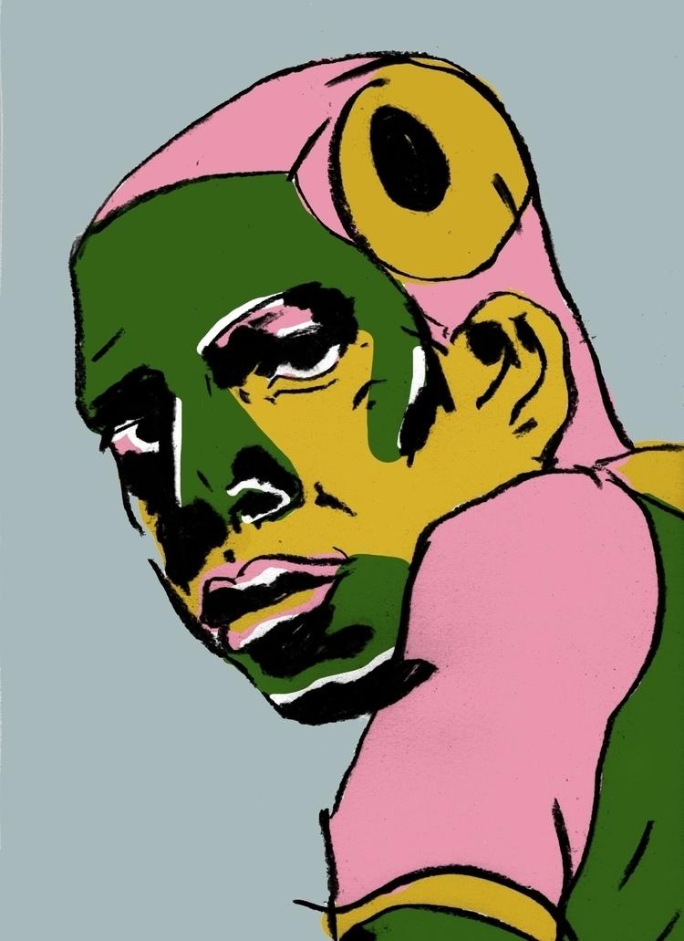 Inspiré portrait de Gilliam Tra - camillefoucou | ello
