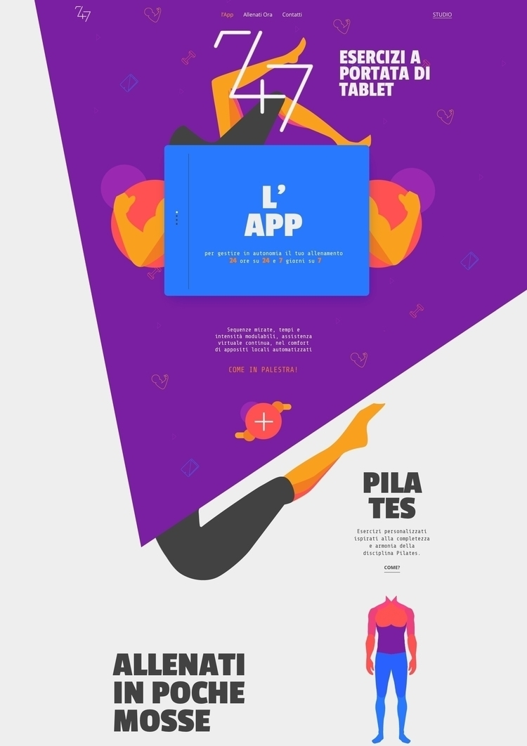 247 APP Home page layout Origin - ideasfly | ello