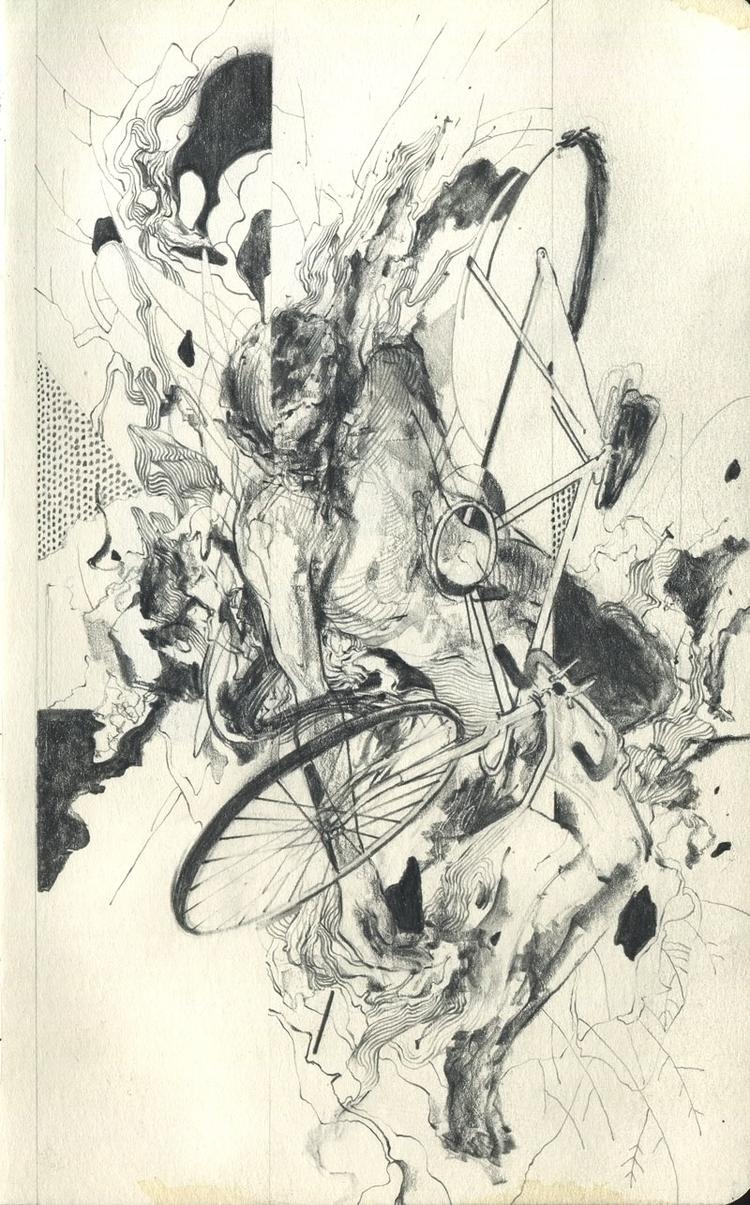 02.60 bike Graphite paper, 5 8 - buttmcbutt | ello