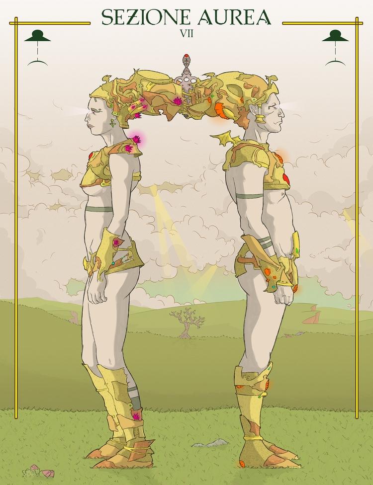 Sezione Aurea VII: Book cover.  - 5bo | ello
