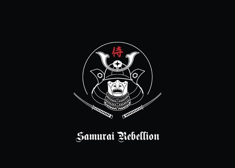 Samurai Rebellion - vector, vectorart - karthikvernekar | ello