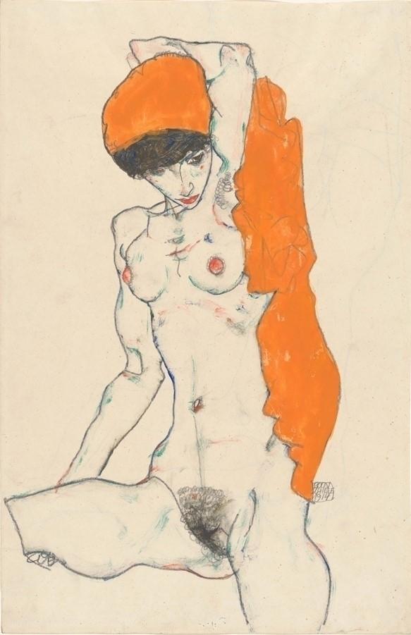 - Egon Schiele 1914 - bluevertical | ello