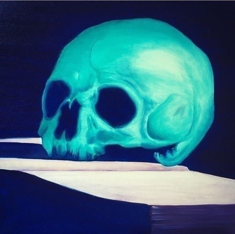 Blu Caravaggio, Oil canvas 40 5 - gioadriana | ello
