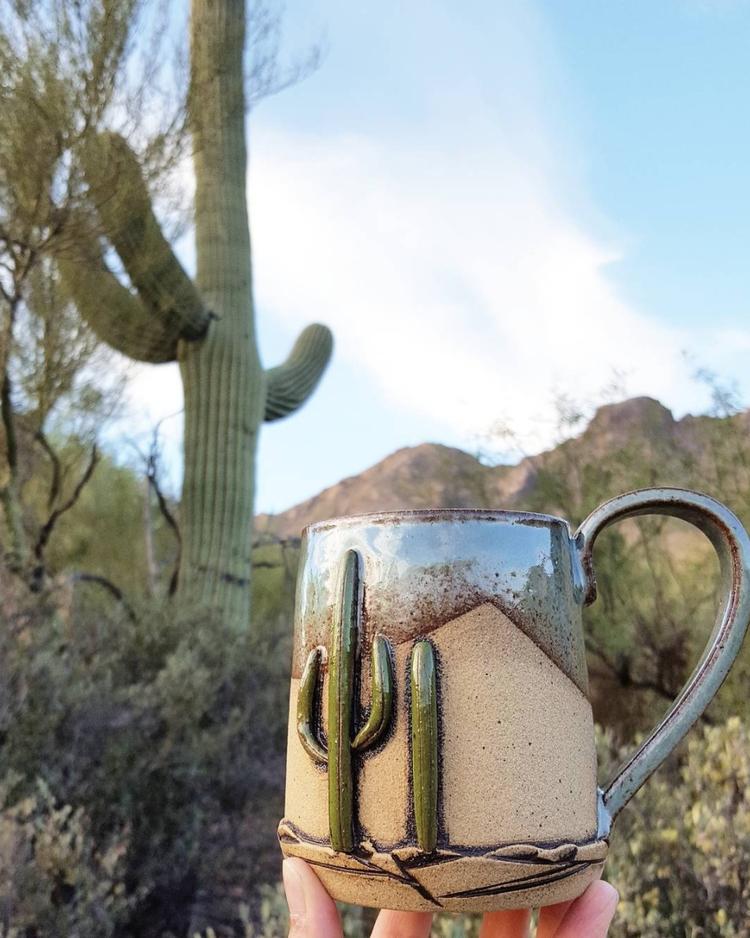 Desert cups, Sonoran desert ner - seedlingclayworks   ello