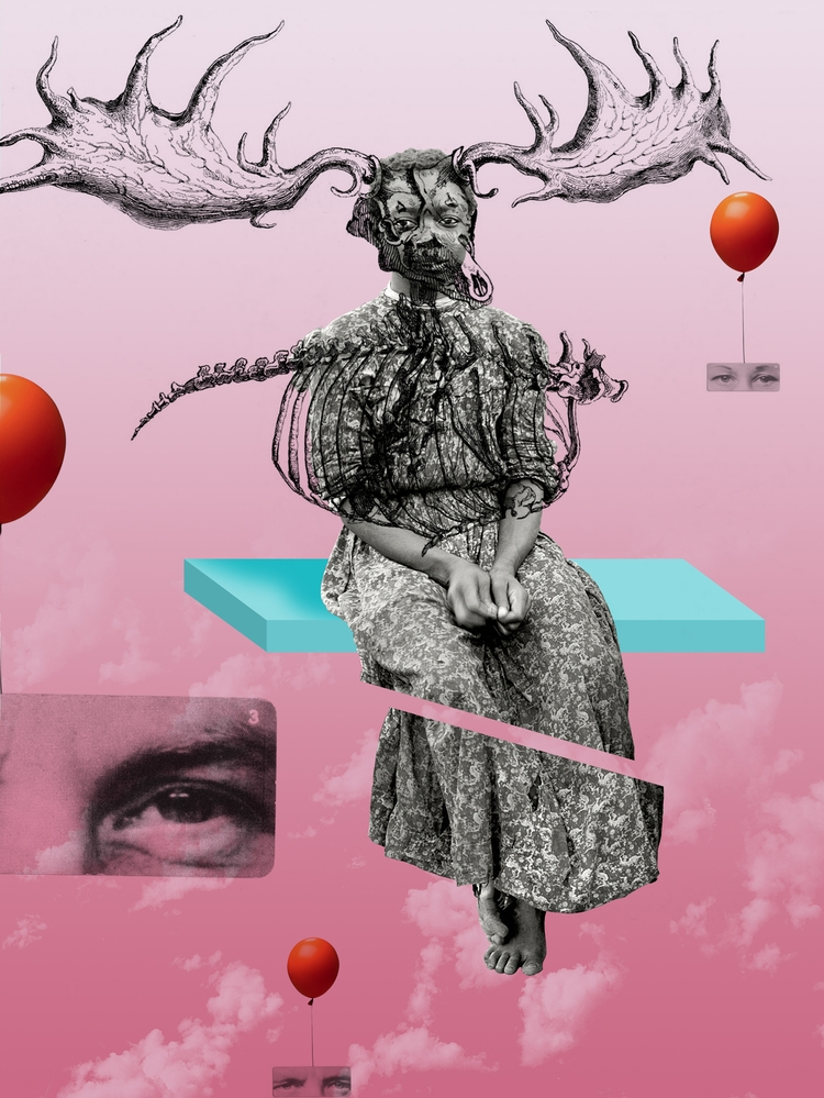 Esmirna lucho - digital collage - mauplanel | ello