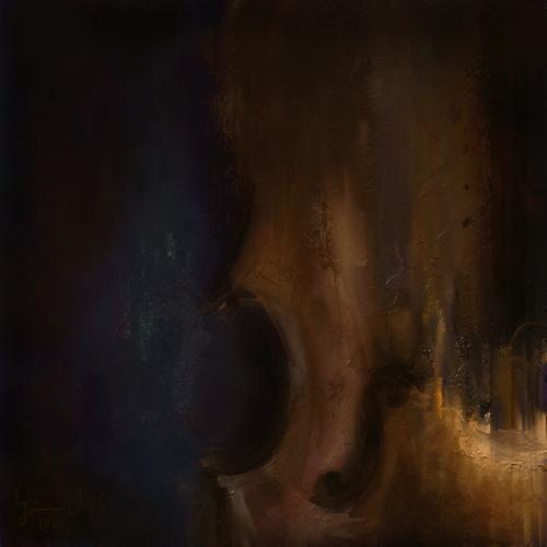 Ilustración Cello. ArtRage. Gén - xjellyuq | ello