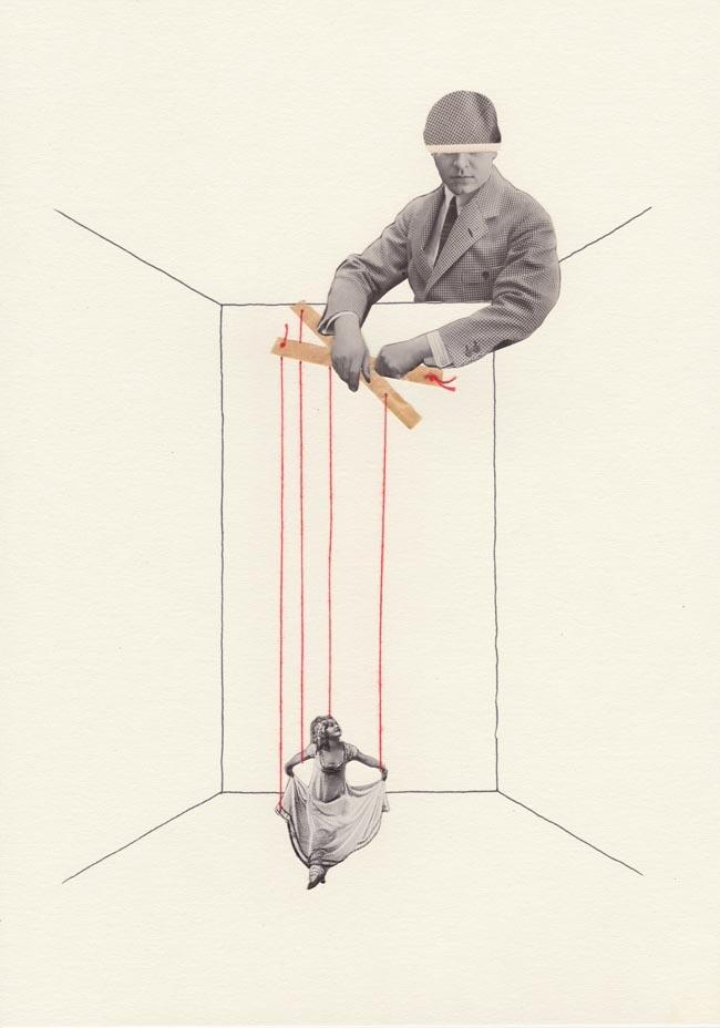 Bio Dutch illustrator collage a - mrsciccoricco | ello