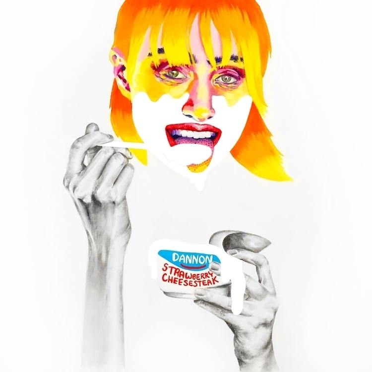 Yogurt Girls Series – oil penci - sarahnospecialname | ello