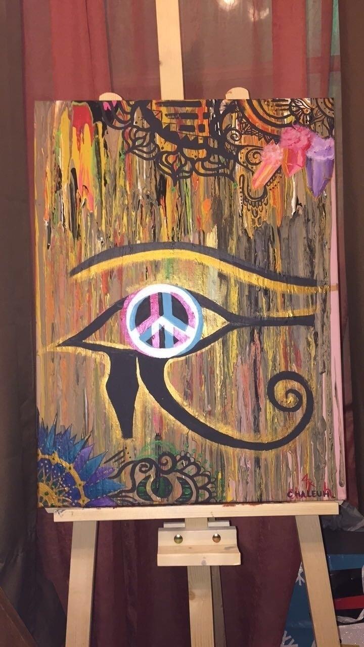 Peace Horus:sparkles::peace_sym - chaleuh_tr | ello