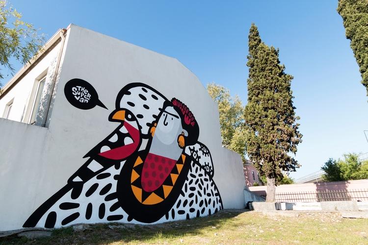 illustrator street artist based - vanessateodoro | ello