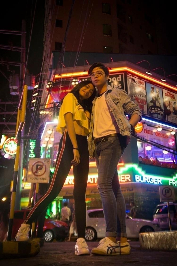 Avenue lights models: Hannah Ma - neilous_ello | ello