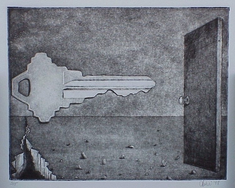 Missed Opportunity (1997 - etching - athir | ello