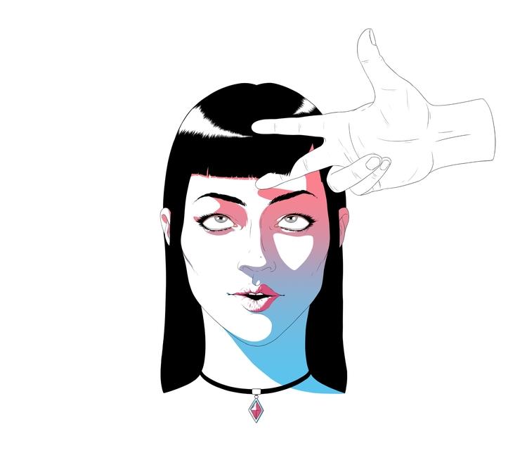 article - girl, hand, scissors - valerazaryta | ello
