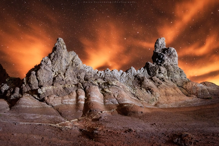 Lightpainting Teide national pa - raicorosenberg | ello