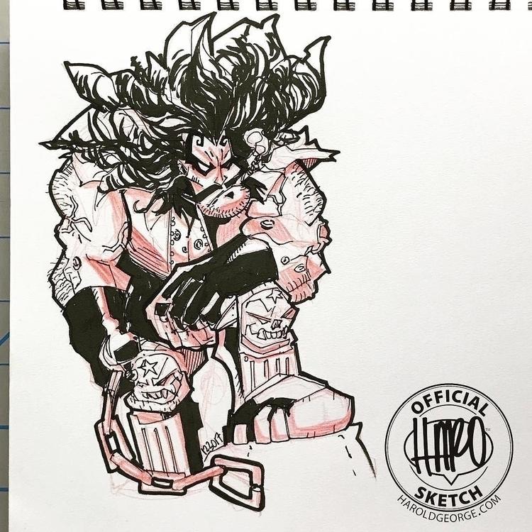 posted Instagram: Sketch 25 :po - haroartist | ello